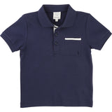 Boys Navy Blue Classic Polo