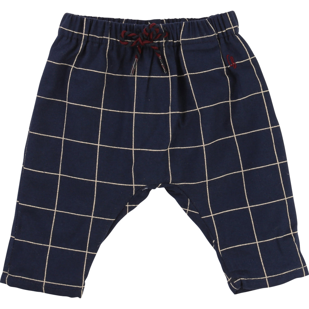 Baby Boy & Girl Checked Trousers