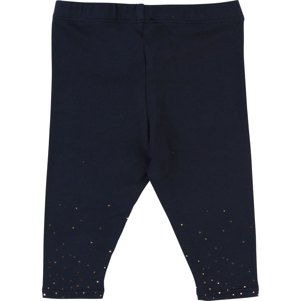 Baby Girl navy Leggings