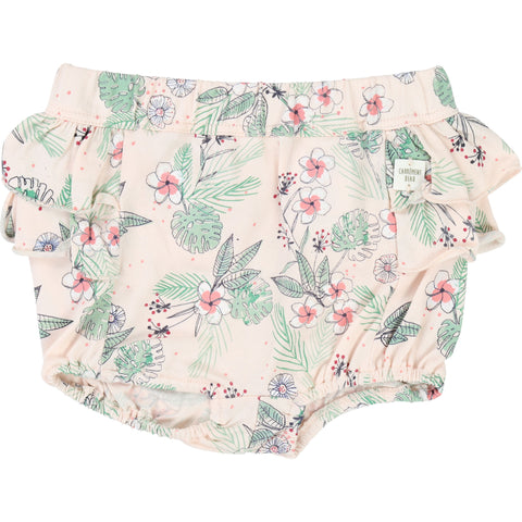 Baby Girl Polida Savanna Print Blouse