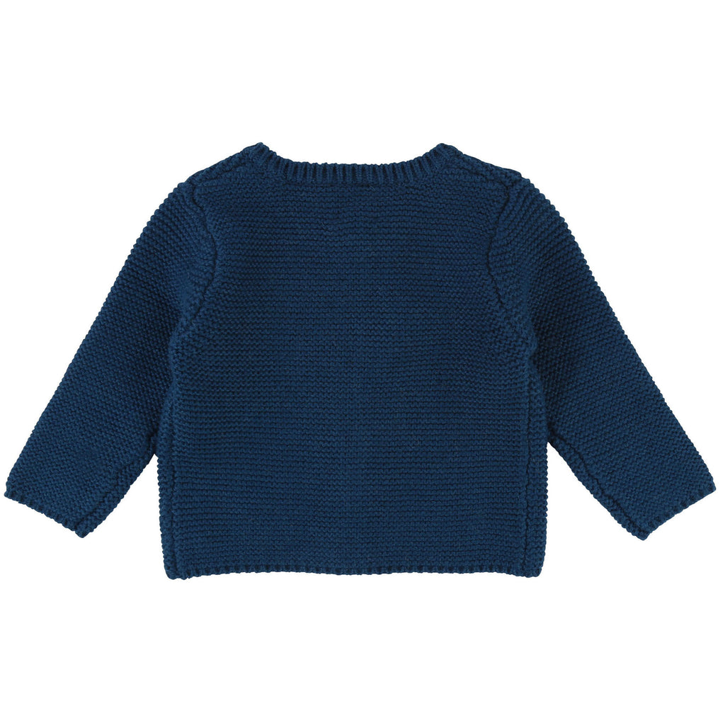 Girls Duck Blue Cardigan