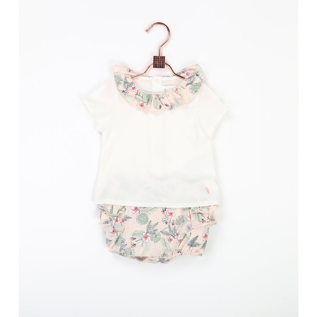 Baby Girl Floral Bloomer