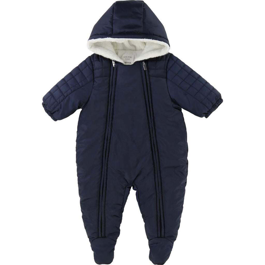 Baby Boy Navy Snowsuit