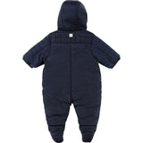 Baby Girl Navy Snowsuit