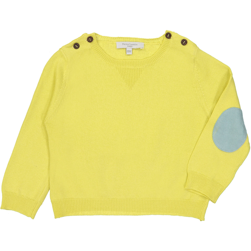 Baby Yellow Alfredo Jumper