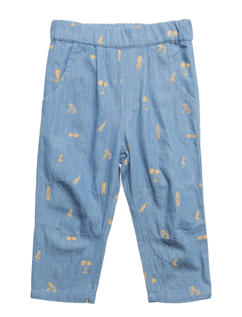 Baby Boy Bernhard True Navy Trousers
