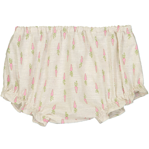 Baby Girl & Boy Stevy Green Peacock Stripy Shorts