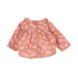 Baby Girl Rose Orange Rio Blouse