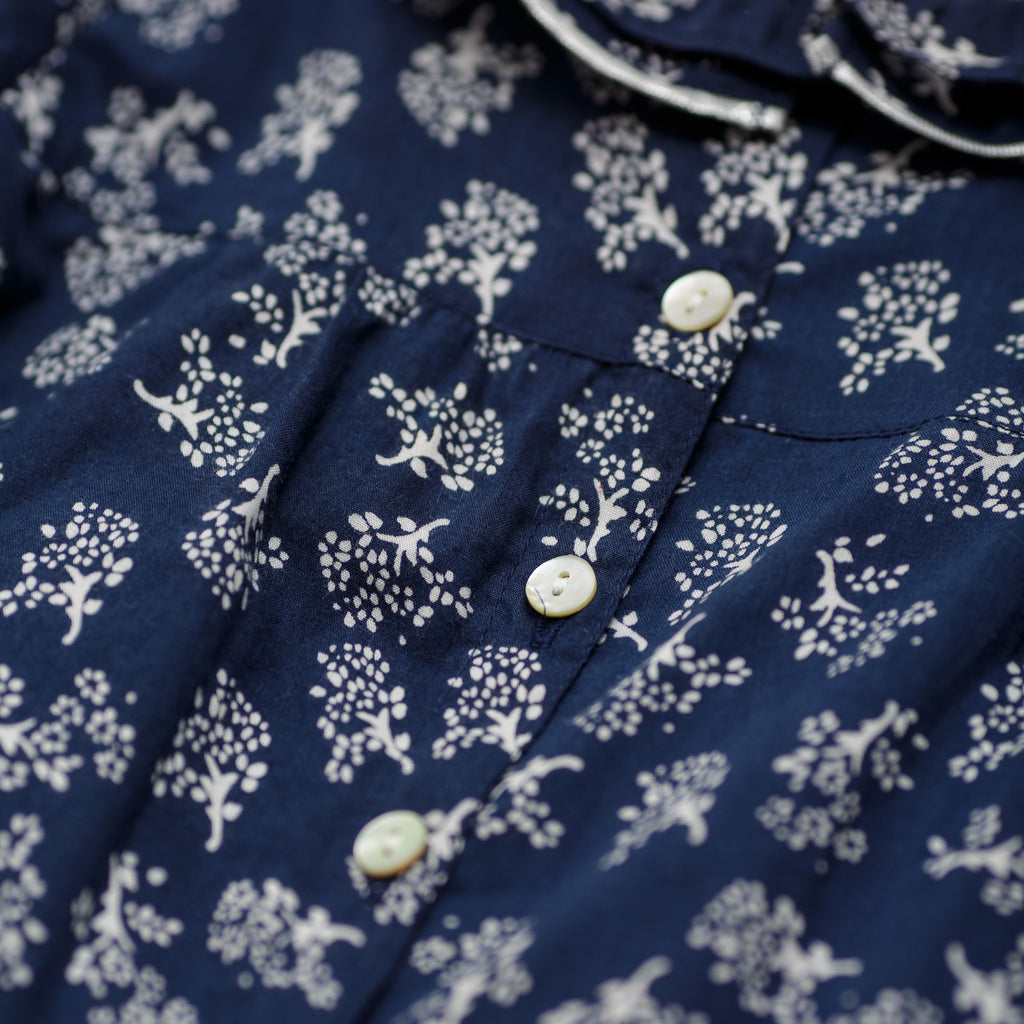 Baby Girl Navy Renia Blouse
