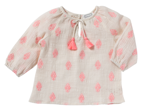 Baby Girl Noely Flamingo Print Bloomer