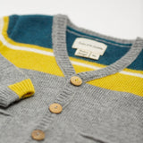 Baby Boys Grey Radou Cardigan