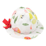 Baby Girl Porcelina Fruit Print Hat