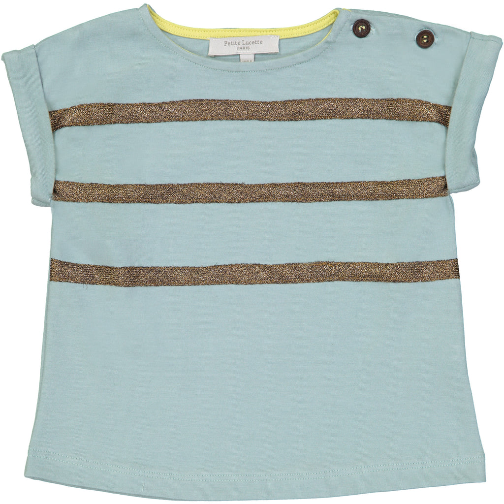 Girls Sage Green Clarisse T Shirt