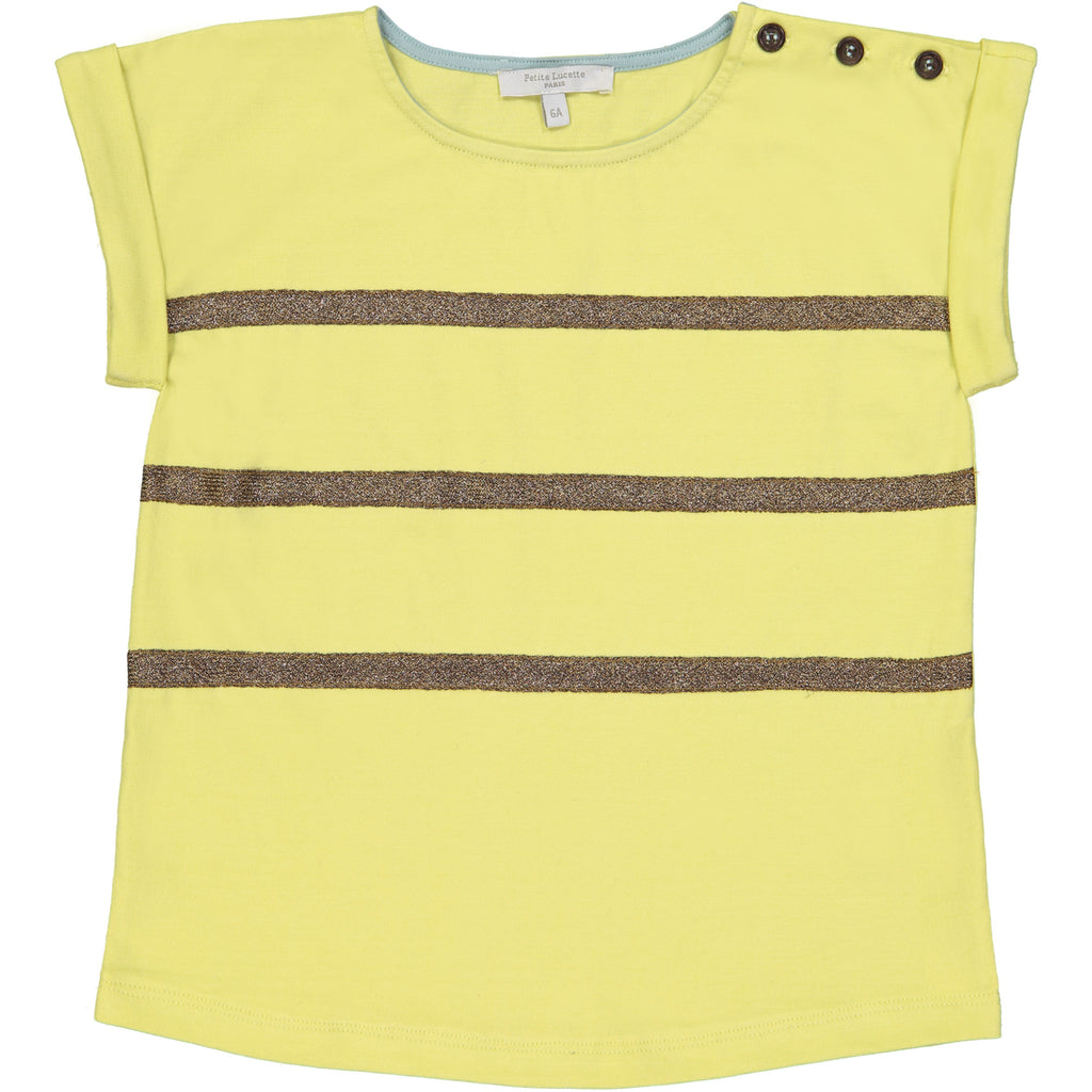 Girls Yellow Clarisse T Shirt