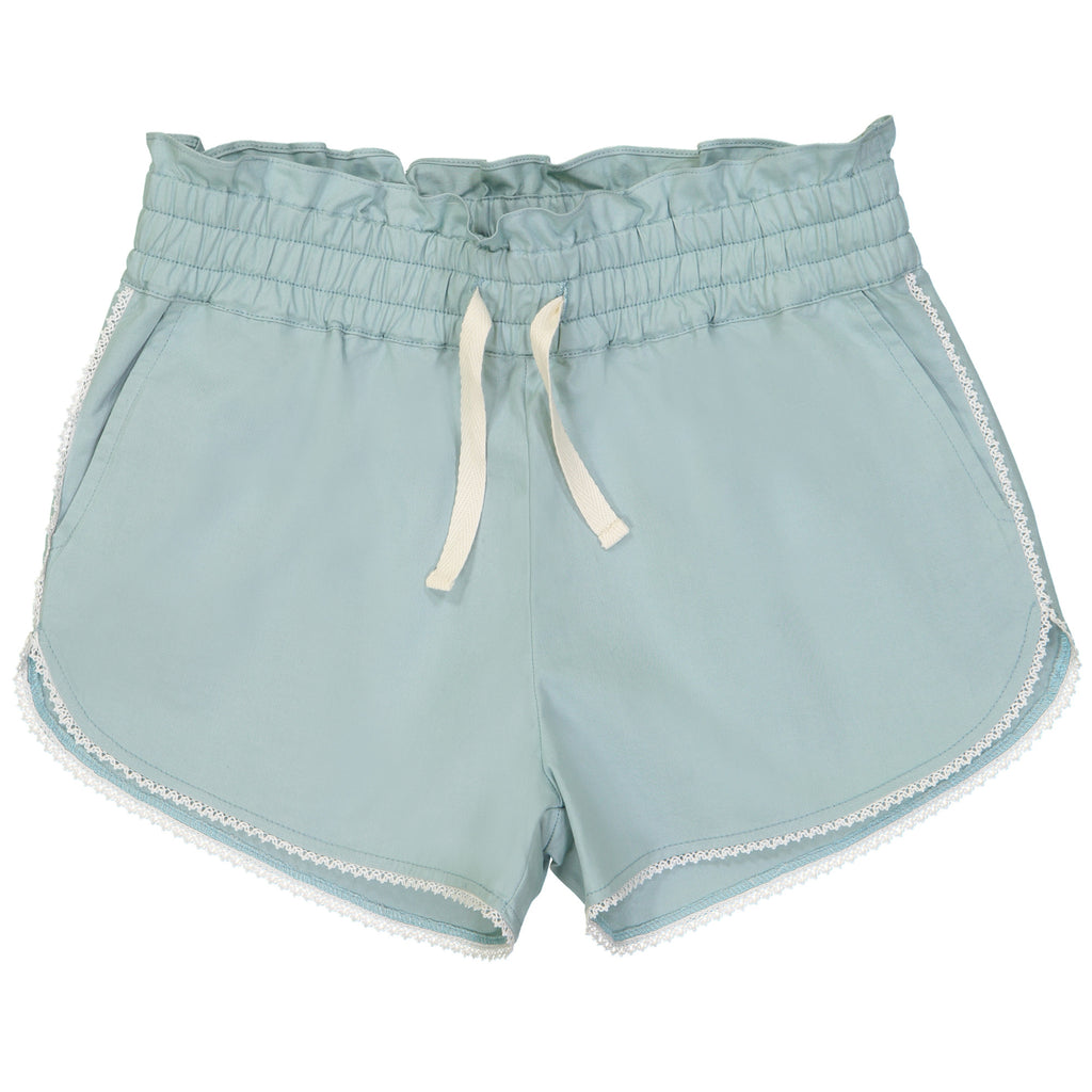 Girls Sage Green Colombe Shorts