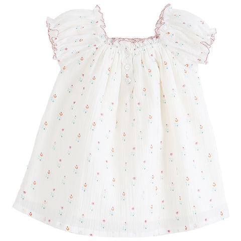 Baby Girl Alma Dress & Bloomer