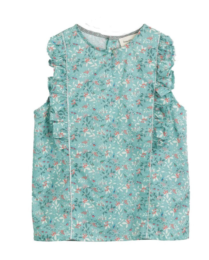 Girls Sorya Bird Print Blouse