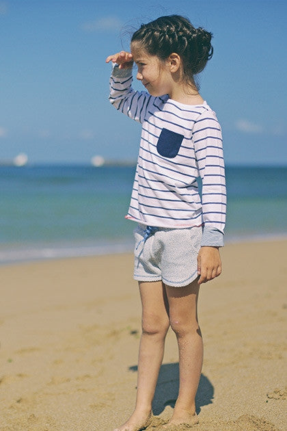Boys & Girls Sailor Striped T shirt