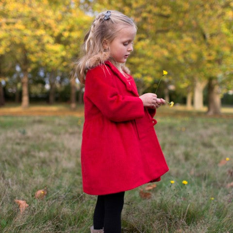 Girls Kensington Red Coat