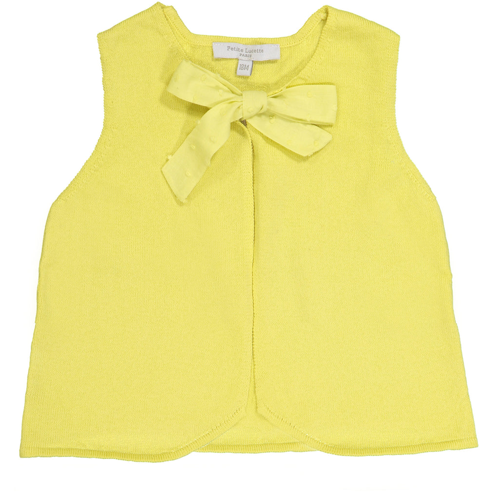 Girls Yellow Hermione Cardigan