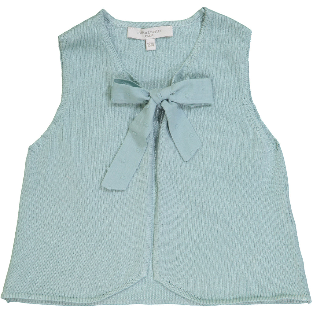 Girls Sage Green Hermione Cardigan