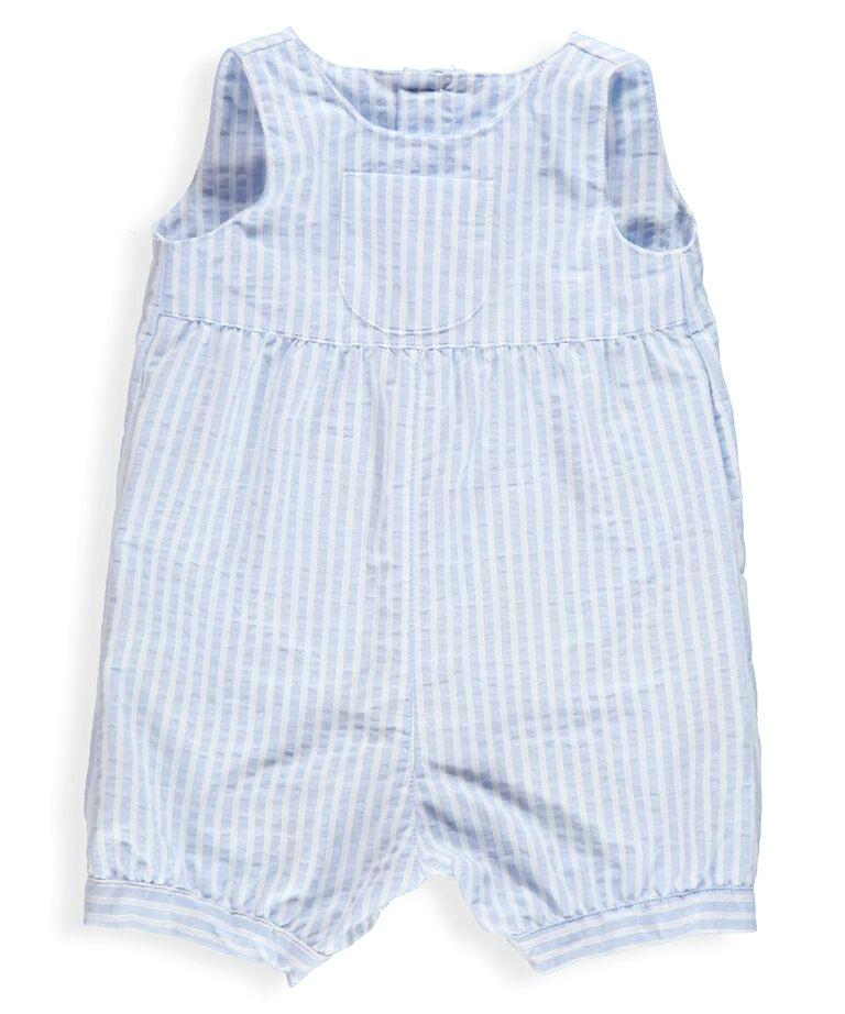 Baby Julio Blue Stripe Romper
