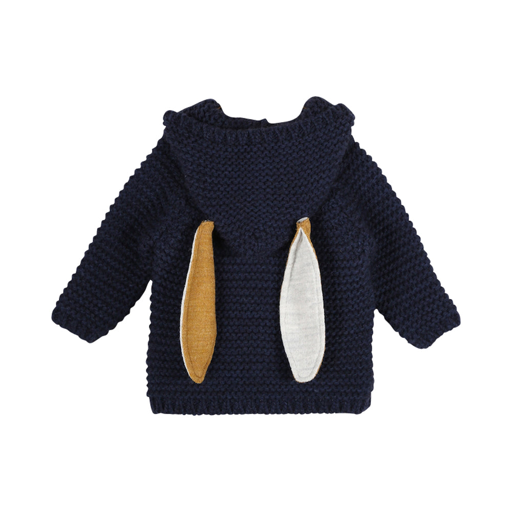 Baby Boy Knitted Hooded Octavien Coat
