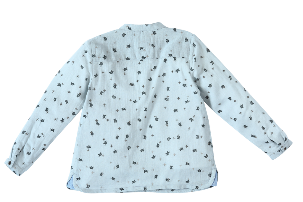 Baby Boys Kurta Cat print Shirt