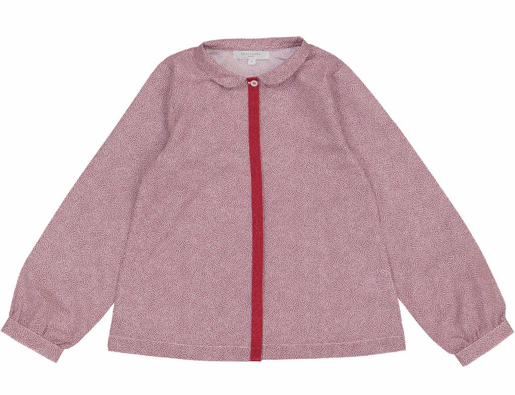 Girls Marthe Blouse Red Seed