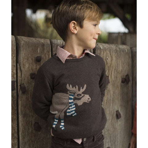 Boys Sauveur Jellyfish Print Shirt