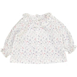 Baby Girl Raphaelle Blouse Grey Wildflowers