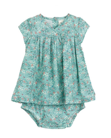 Baby Boys & Girls Willy Blue Flowers Trousers