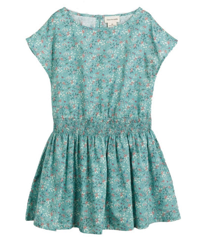 Girls Rosette Circus Print Dress