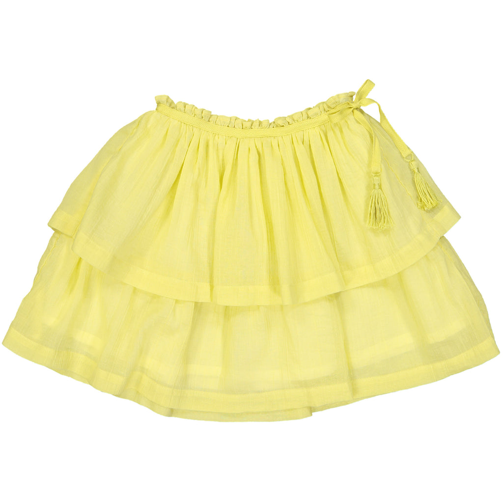 Girls Sophie Yellow Skirt