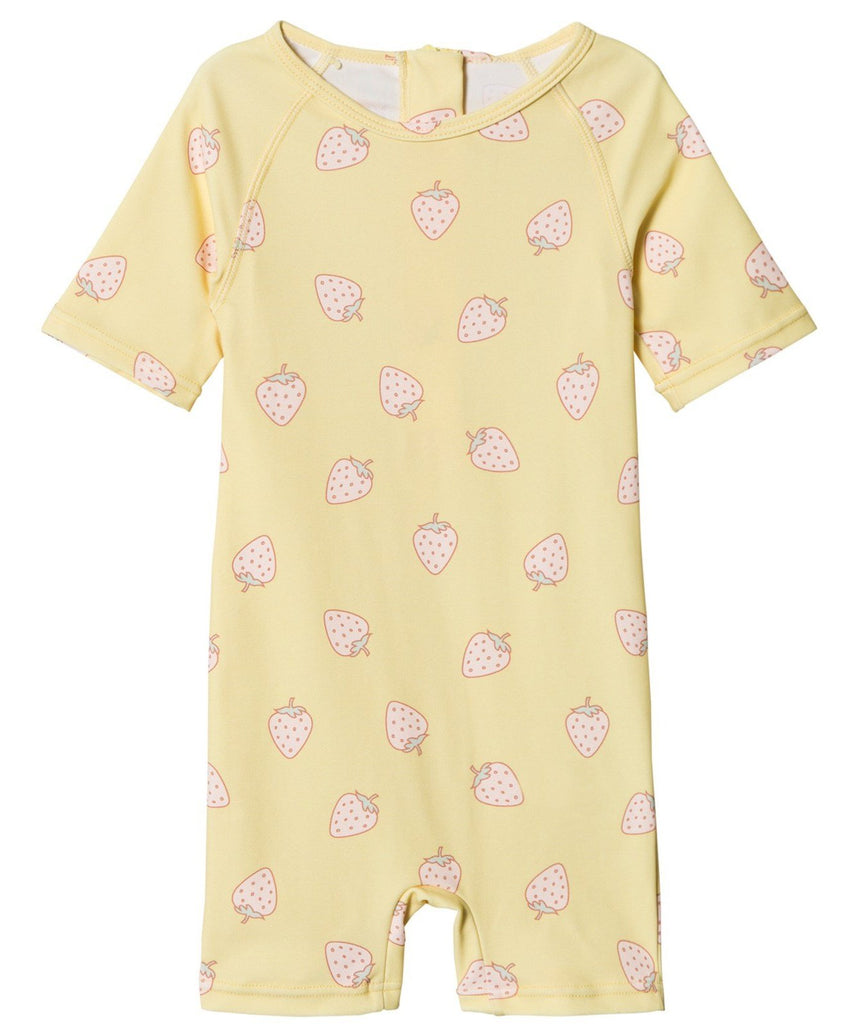 Baby Girl UV50 Goldie Pale banana Wetsuit