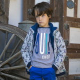 Boys Russ Navy Stripe