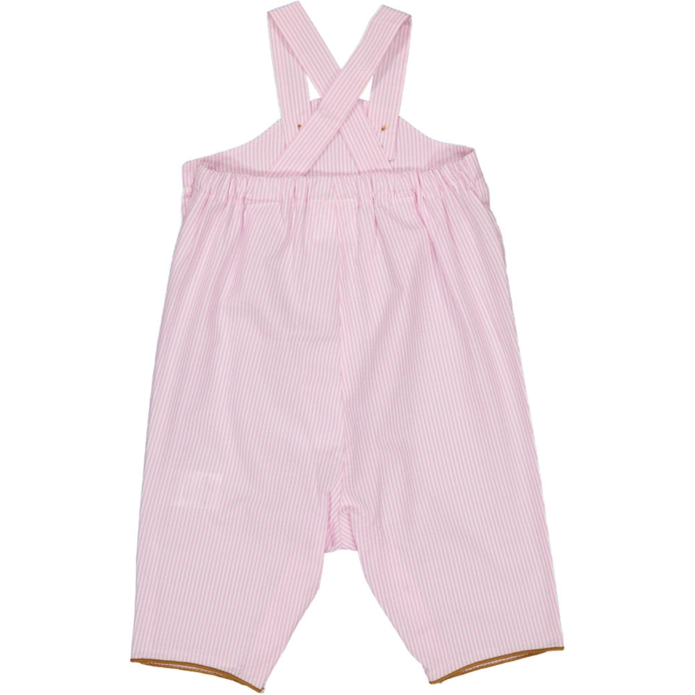 Baby Titouan Pink Overalls