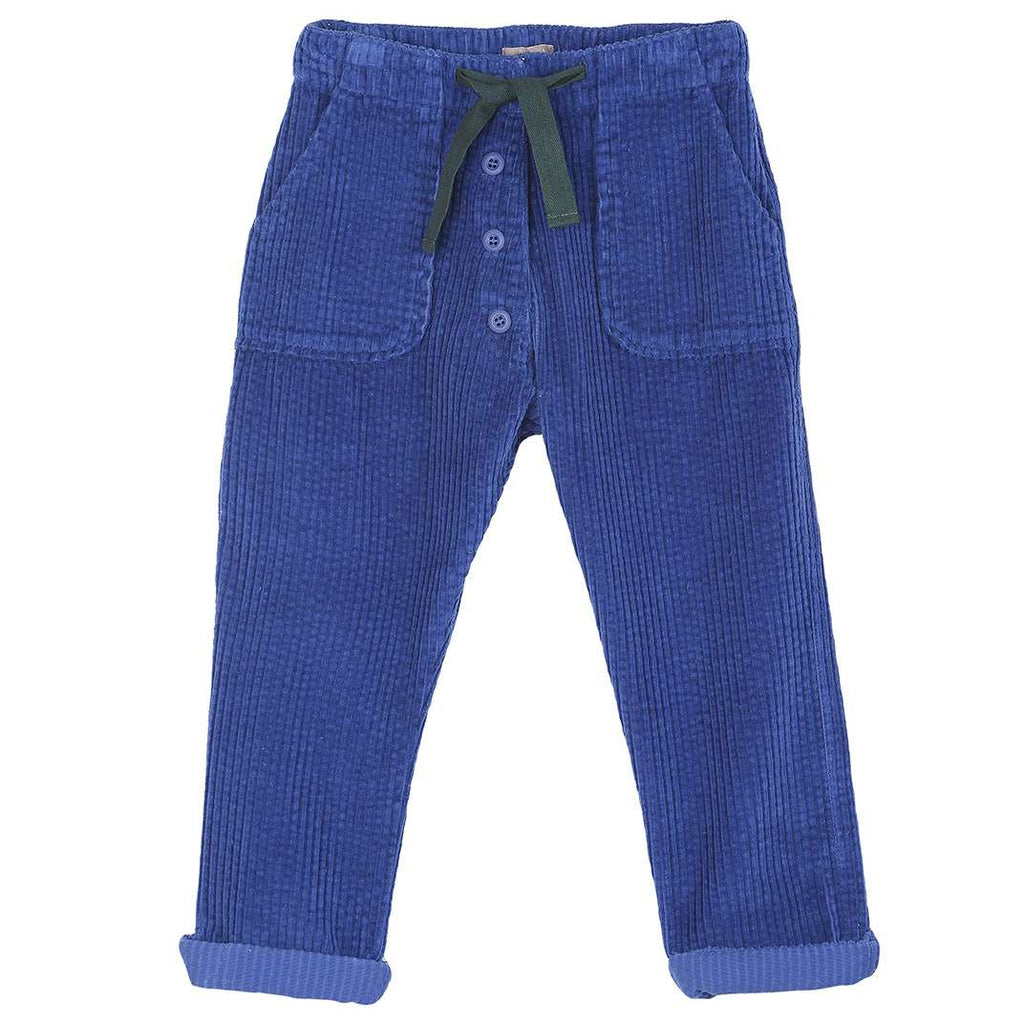 Boys & Girls Cobalt Corduroy Trousers