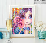 """A Splash of Colour"" Art Print"