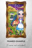 """Alice and Absolem"" Art Print"