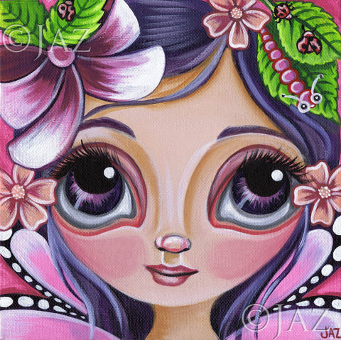 """Boysenberry Fairy"" Art Print"