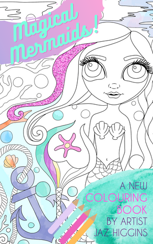 """Magical Mermaids"" Colouring Book"