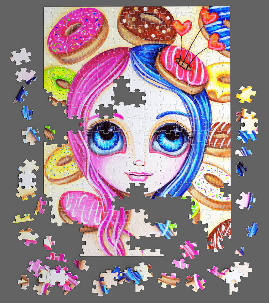 """Donut Princess"" 500 Piece Puzzle"