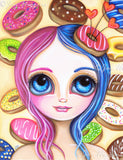 """Donut Princess"" Art Print"