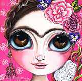 """Frida and the Dragonfruit"" Art Print"