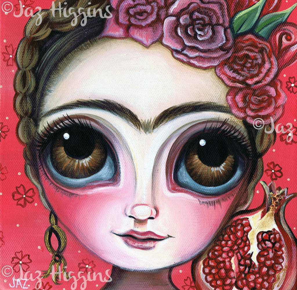 """Frida and the Pomegranate"" Art Print"