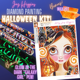 """Halloween Magic"" Diamond Painting Kit"