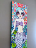 """Ice Cream Fantasy"" Mermaid Original Painting"