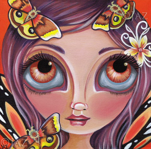 """Io Moth Fairy"" Art Print"