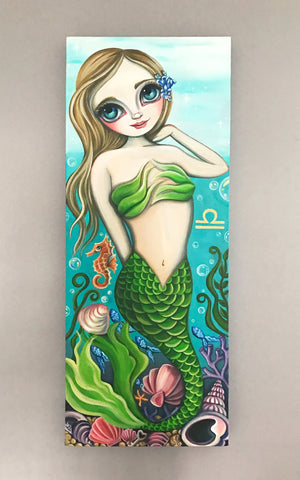 """Libra"" (Zodiac Mermaid) Original Painting"
